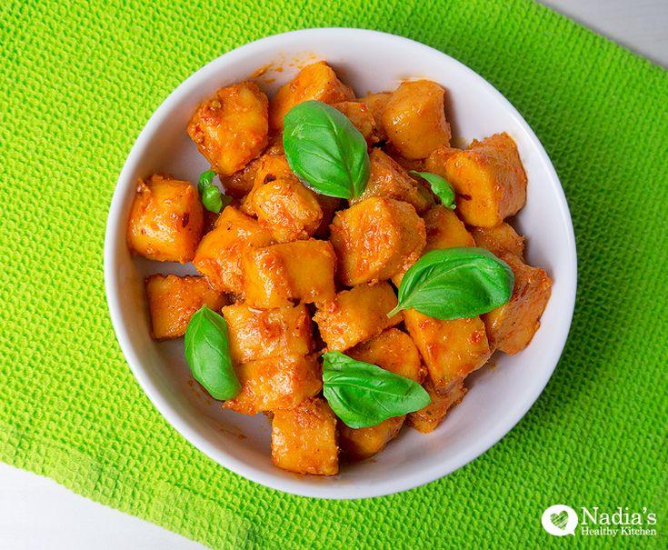 Gluten Free Sweet Potato Gnocchi #glutenfree #vegan #gluten #free # ...