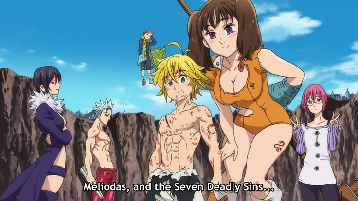 the seven deadly sins anime - Google Search (Look at adorable Gowther is being)