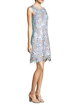 30ffd42d8fa7c Elie Tahari Tallulah Floral Lace Dress | I Like My Money Right Where ...
