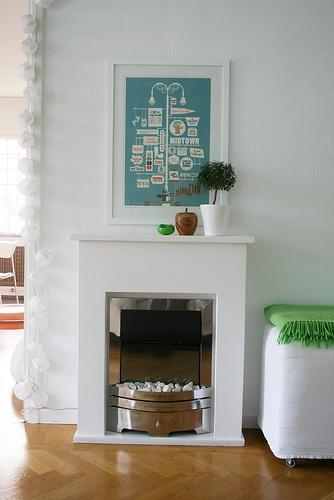 Cool small fireplace
