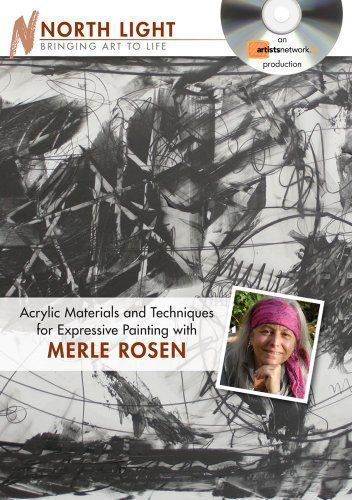 Merle Rosen : Acrylic Materials and Techniques for Expressive Painting DVD http://www.jacksonsart.com/p36583/Merle_Rosen_:_Acrylic_Materials_and_Techniques_for_Expressive_Painting_DVD/product_info.html #dvd #acrylic #painting #instructional #northlight #art #expressive