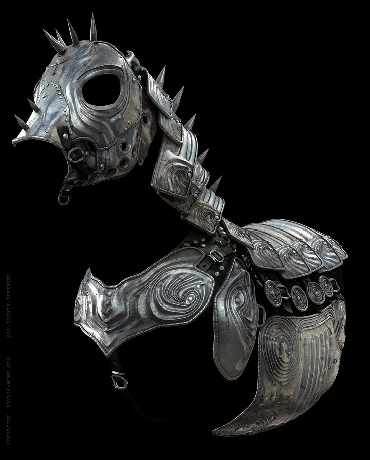 Armour for horse. A suit of armour was not only intended to protect its wearer from missiles, swords or hammer blows. A suit such as this drew attention to one's social status, one's fashion consciousness and, by virtue of its great cost, one's wealth.