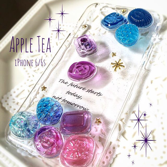 キラキラ 星空ドロップス iPhone 6/6s  #190
