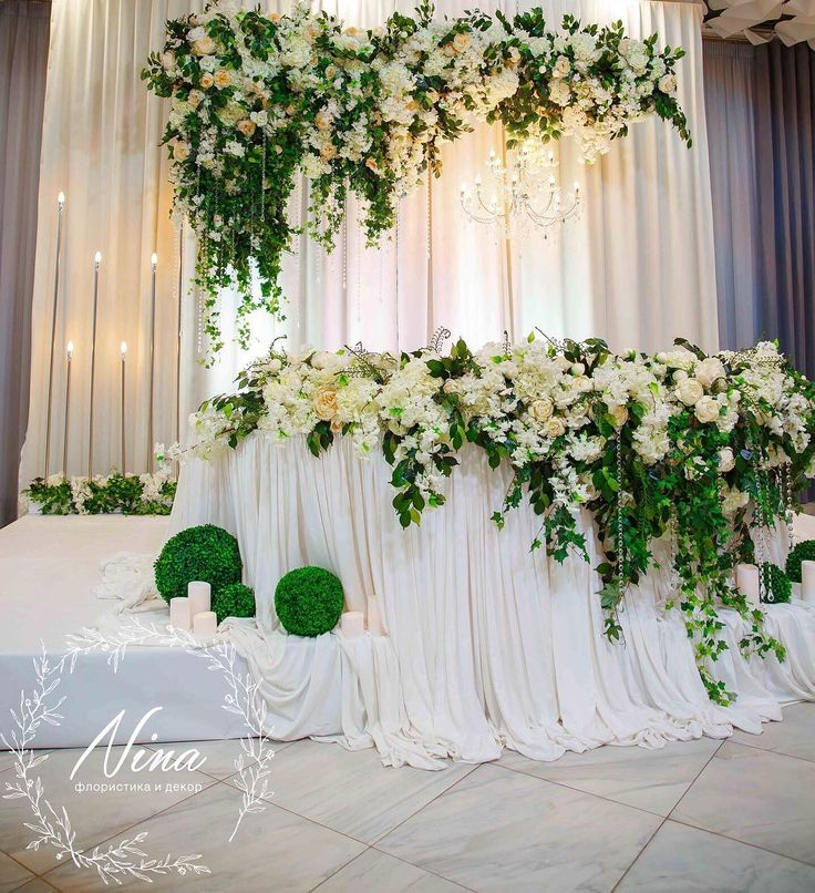 Сделаем ваш счастливый день ещё более прекрасным!!! Хотите узнать сколько будет стоить оформление на вашей свадьбе?)☺️Позвоните или напишите в Вотс ап 8(909)4649076  Роскошное цветовое сочетание белого и зелёного ⚪️ ничего лишнего!!! Любимый ресторан @ysadba_familiya Организатор @serafim_event #wedding #weddingdecor #weddingdecoration #weddingkrasnodar #nina_decor #остросаблина_декор #президиум #столмолодых #столмолодоженов #свадьба #свадьбавкраснодаре #свадьбакраснодар #свадь...