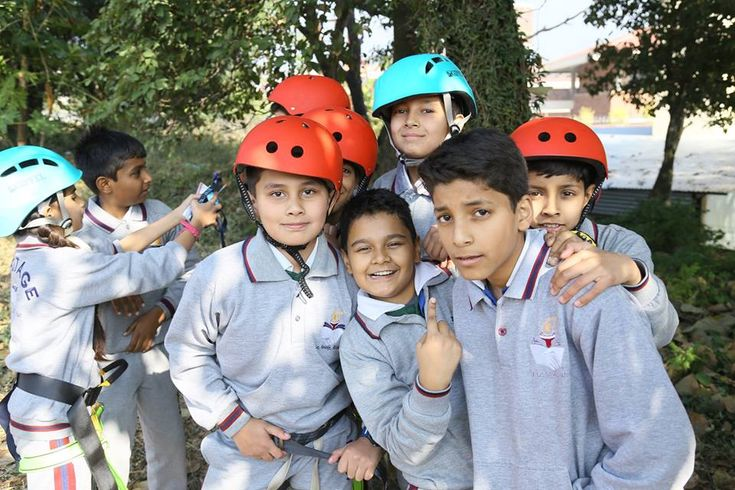 Heritage School organized a series of adventure activities for their students since they believe such activities increase student's productivity, #TheHeritageSchool #ICSE #School #Adventures #trip