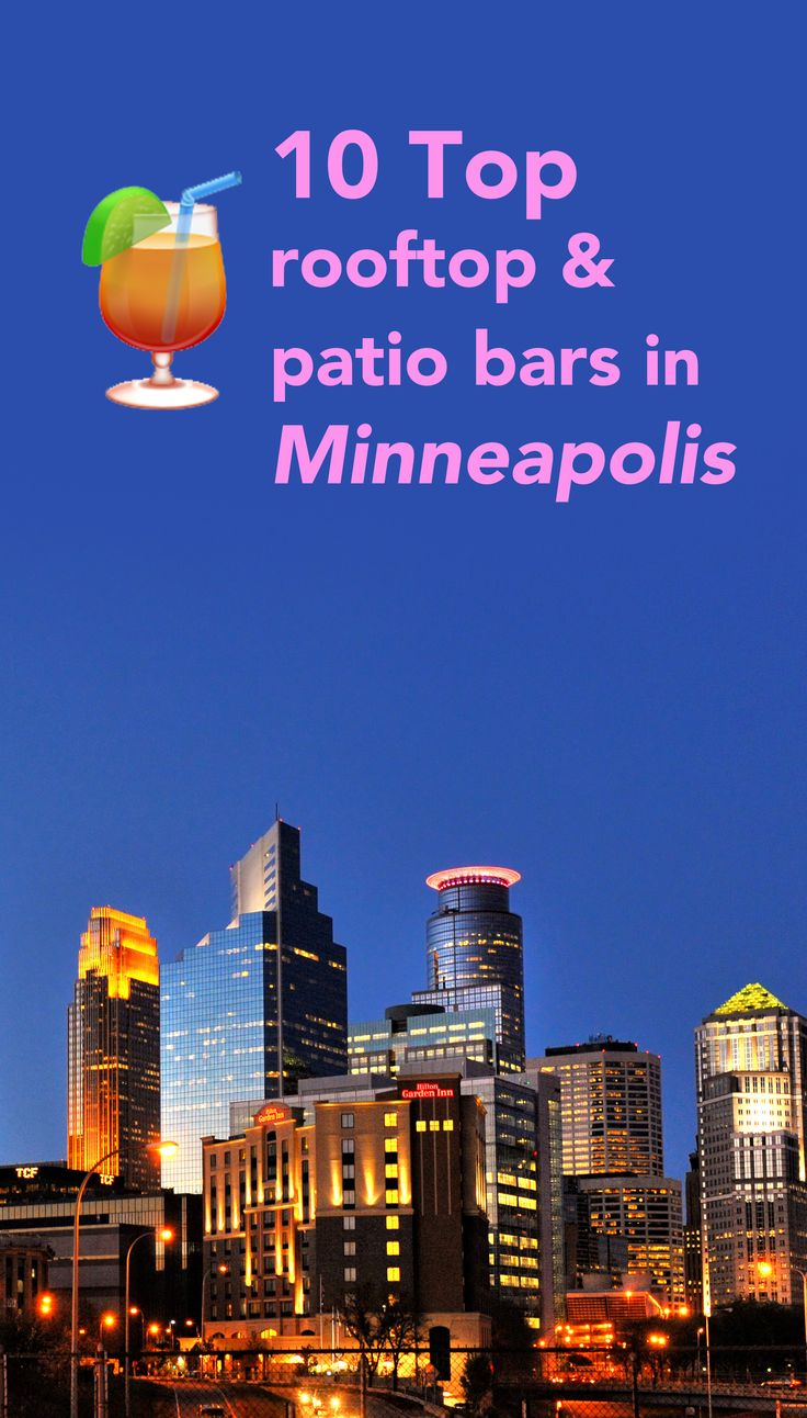 The best rooftop and patio bars in Minneapolis, the land of outdoor drinking. | whimsysoul.com