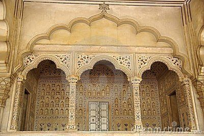 the royal seat in DEA. Agra fort