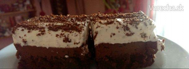 Čokoládový dezert s mascarpone (fotorecept) - Recept