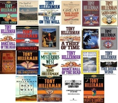 Tony Hillerman [Happy Birthday Tony Hillerman.  May 27, 1925 - October 26, 2008 Rest in peace, God bless you. ~sdh]