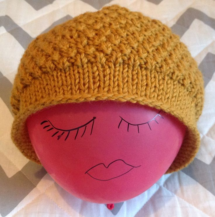A needle and some thread: Pearl hat