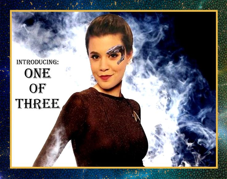 Morgan Hoffman as 1 of 3, in honor of InnerSpace's Sunday tribute to Leonard Nemoy. Morgan favored and retweeted in Twitter, so did many others.
