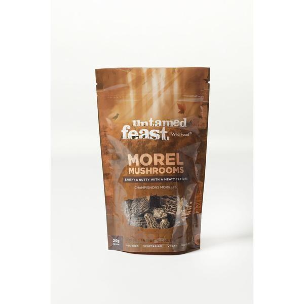 Untamed Feast Morel Mushrooms - 20g