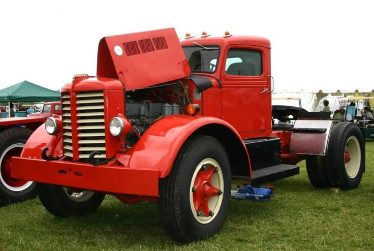 Semi Tractor Accessories : Vintage trucks old federal remarkable vehicles