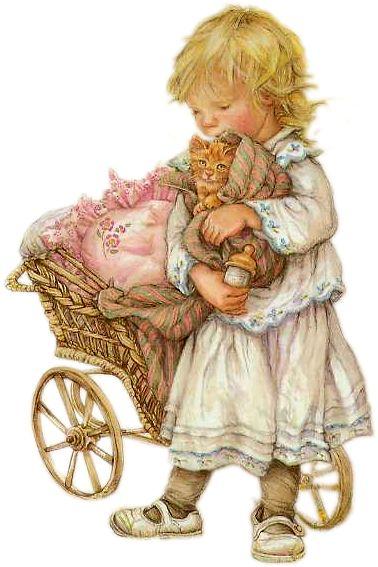 Imagens de crianças delicadas | Imagens para Decoupage