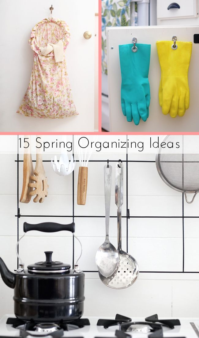 Trust us: Life is so much easier without clutter. These easy organizing tips and ideas will help you turn your kitchen, bedroom and bathroom into a relaxing space.