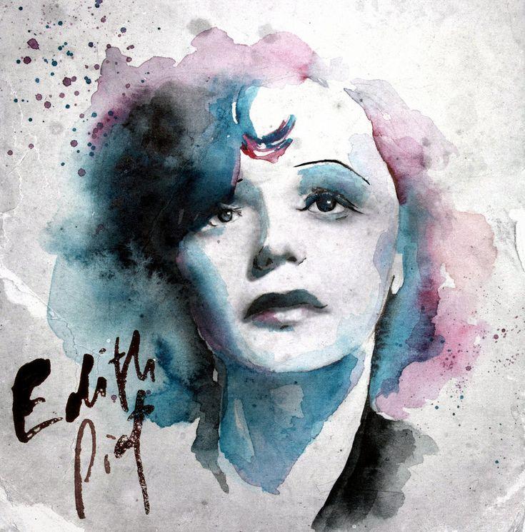 "EDITH PIAF Surnommée ""La Môme Piaf"""
