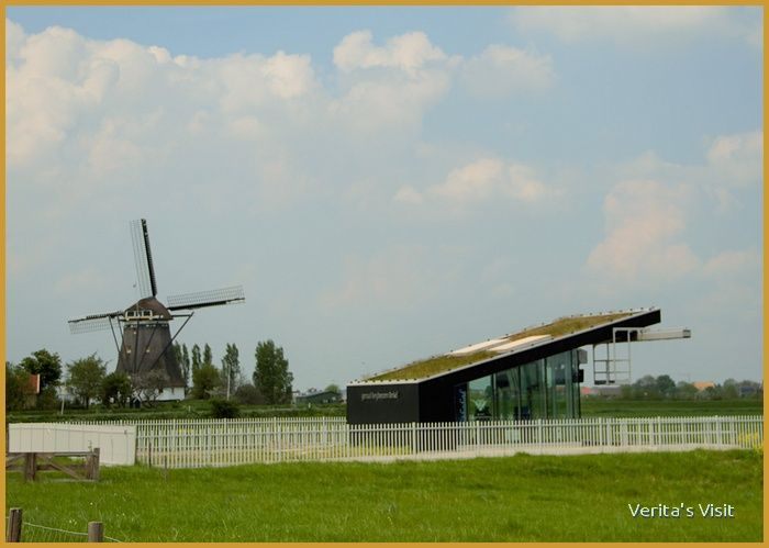 Pumping station & windmill Delft area