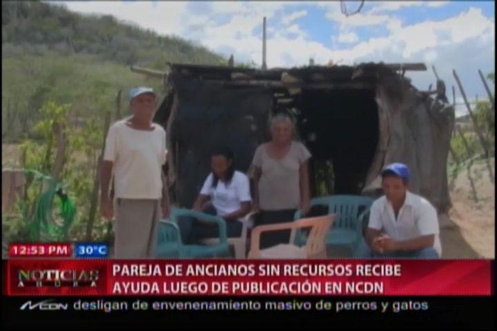 Pareja De Ancianos Sin Recursos Recibe Ayuda Luego De Publicación En NCDN #Video