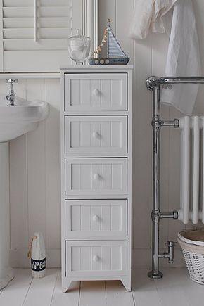 White Narrow Bathrooms 25+ parasta ideaa pinterestissä: narrow bathroom cabinet