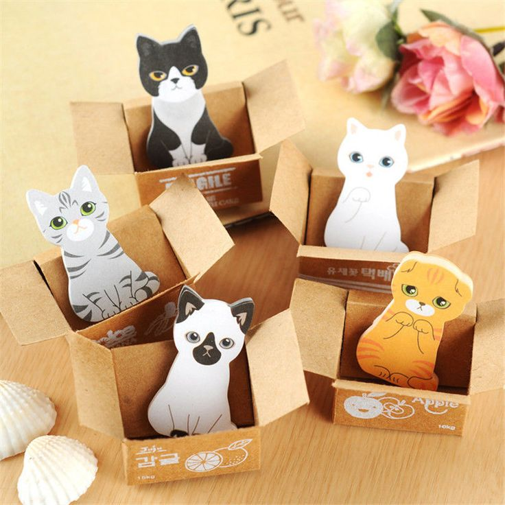 Kawaii Paper Scrapbooking Stickers 3D Cartoon Cat Diary Notes Child Stationery | Home & Garden, Kids & Teens at Home, School Supplies | eBay!