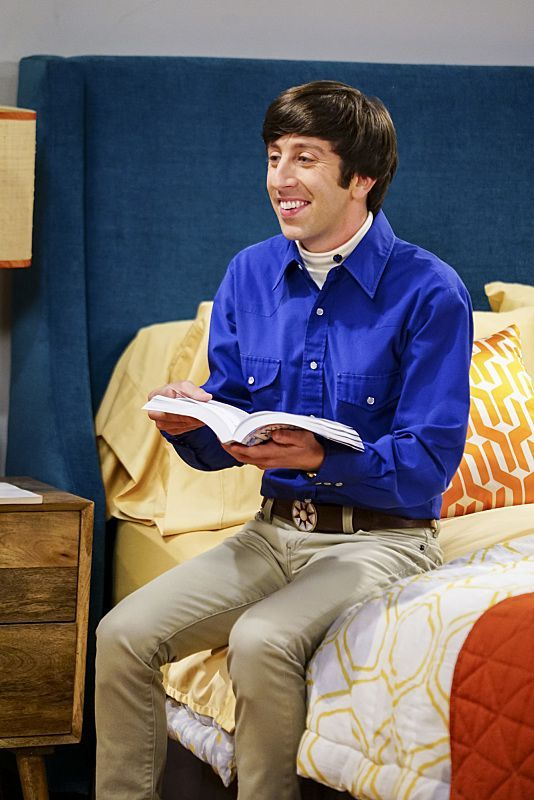 """The Hot Tub Contamination"" -- Pictured: Howard Wolowitz (Simon Helberg). Leonard and Penny must separate a quarreling Sheldon and Amy when their cohabitation does not go as planned, and Sheldon threatens to break off their relationship when Amy refuses to adhere to the bathroom schedule.   Also, Howard and Bernadette find unexpected guests at their house when they decide to stay home from a planned vacation, on THE BIG BANG THEORY, Monday, Oct. 17 (8:00-8:31 PM, ET/PT), on the CBS…"
