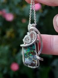 Image result for opal pendant designs