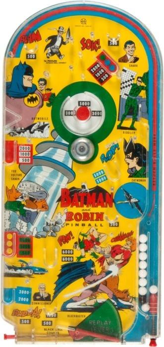 * Batman Toy Pinball Game *