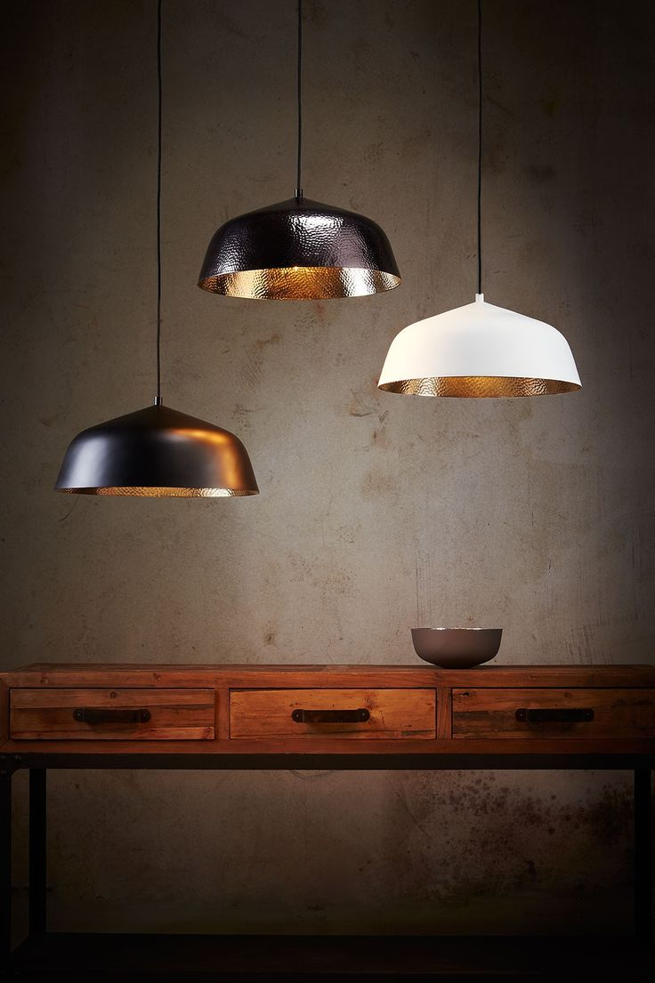 best  scandinavian pendant lighting ideas on pinterest  - a hammered interior in metallic finish gives this elegant contemporarypendant light a luxurious glow