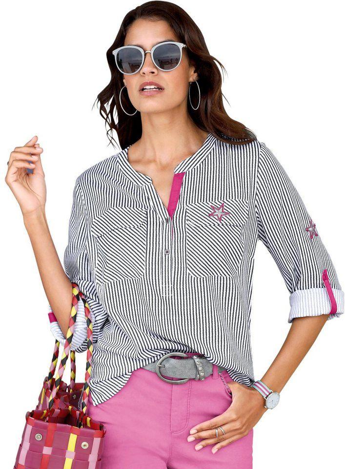 Alessa W. Bluse im Streifendessin   Produktkatalog Fashion   OTTO    Pinterest 836f229022