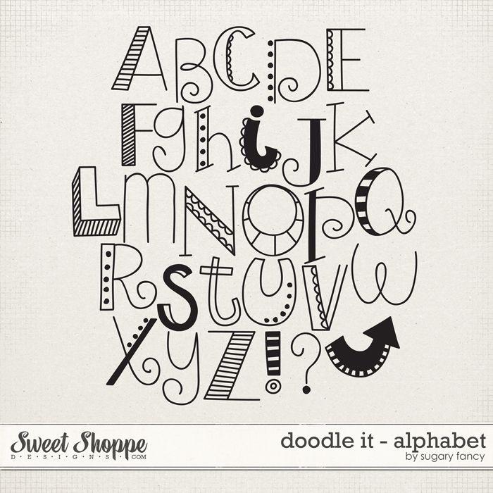 14 best letter doodling images on Pinterest | Doodle ...