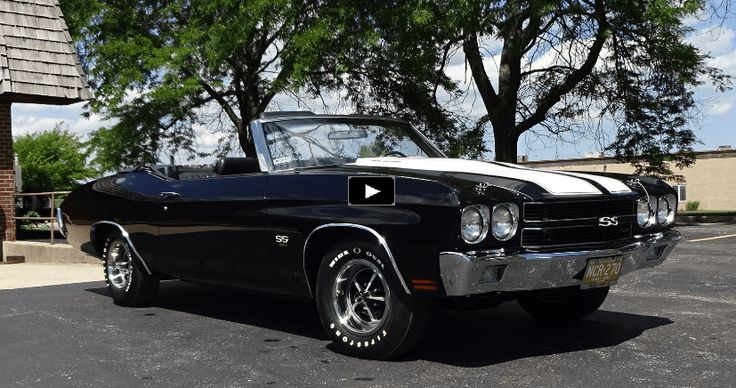 Immaculate 1970 Chevy Chevelle SS 454 Convertible