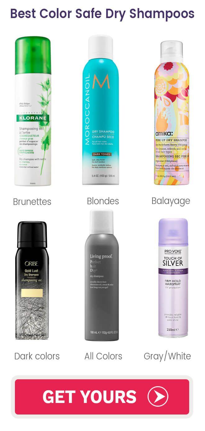 Color Safe Dryshampoos Color Safe Shampoo Dry Shampoo Color Safe