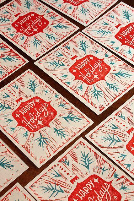 illustration, frame, Christmas, Holiday card