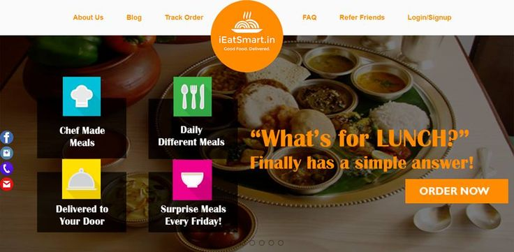 Successfully Delivered the Project for online Food Ordering www.ieatsmart.in  By: www.webcodeft.com