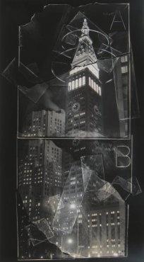 MetLife Building, negative collage