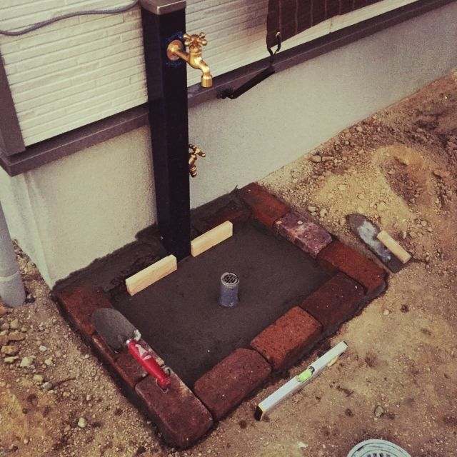 立水栓/海外インテリアに憧れる…などのインテリア実例 - 2015-02-03 20:37:26 | RoomClip(ルームクリップ)