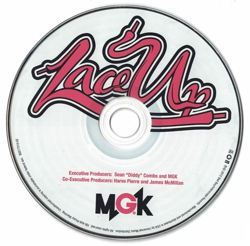 MGK Lace Up Album 2012 CD Professionally Cleaned