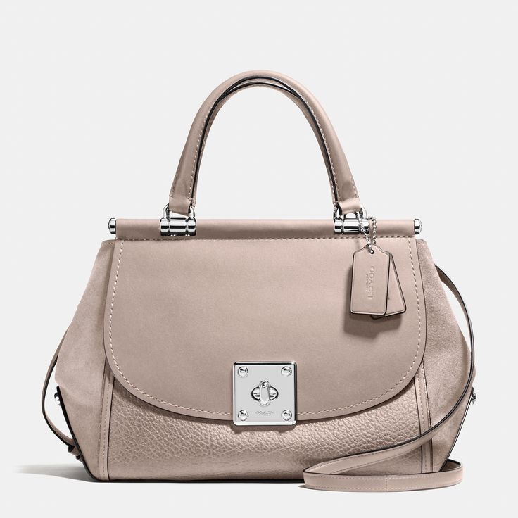COACH Drifter Carryall In Mixed Leather. #coach #bags #lining #travel bags #weekend #suede #
