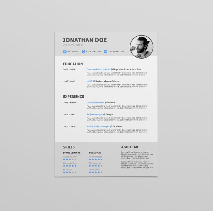 25 best CV design images on Pinterest   Curriculum, Cv design and Cv ...