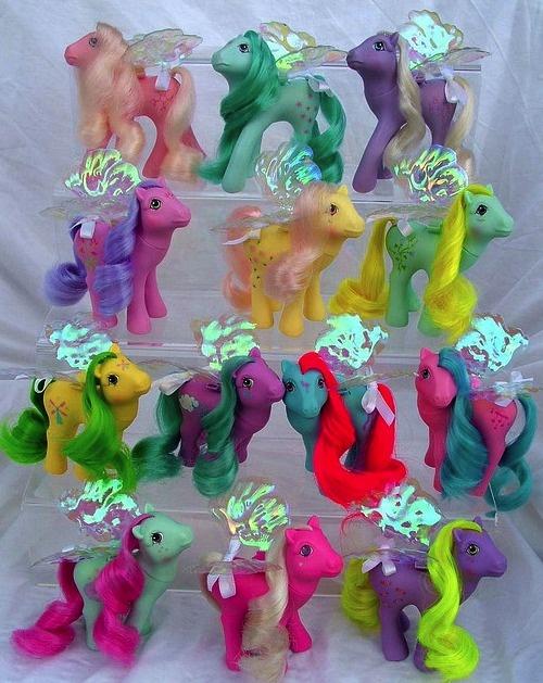 """Vintage My Little Pony """"Flutter Ponies"""""""