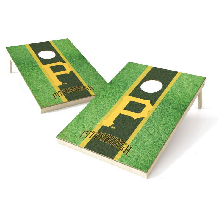 Pittsburgh Pirates 2' x 3' Field Shield Tailgate Toss Game - $159.99