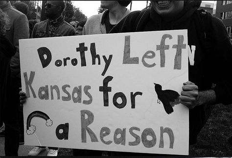 Anti-Westboro: Signs Support, Support Gay, Gay Marriage, Funny Signs, Awesome Signs, Funny Stuff, Dorothy Left, Left Kansas, Awesome Stuff