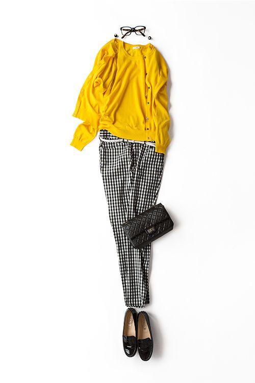 今日はちょっとクラシカルな気分 2015-05-15 | top price :9,180 brand : ELFORBR  | cardigan price :9,720 brand : ELFORBR