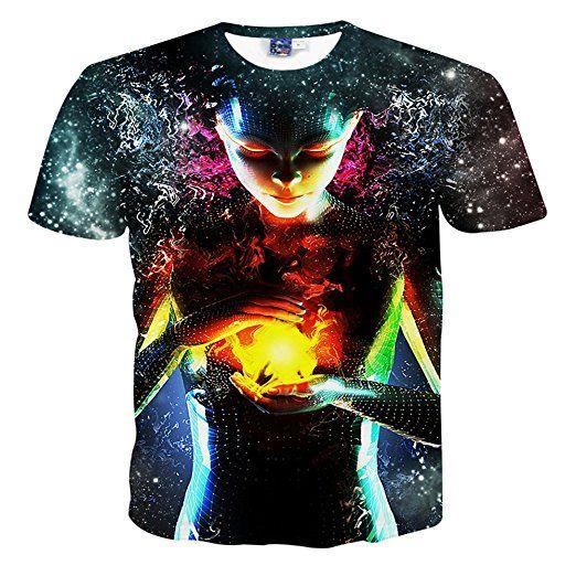 YonBii Herren Designs T-Shirt 3D-Druck Beiläufige Hemd Bluse Kurzarm -  lustiges Sprüche Shirt als Geschenk für Faule mit Humor tshirt sprüche  lustig t-shirt ...