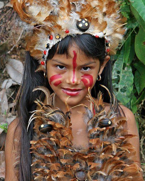 A Girl from where lifes by the River Boca da Valeria Boca Amazon.