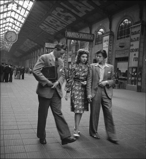 Gare St Lazare Paris 1943 Roger Parry