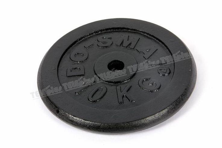 Do-Smai AG-889 Döküm Ağırlık 10 KG - Do-Smai 10 kg Siyah Döküm Plaka  Siyah döküm plaka ağırlığı 10 kg. 'dır.   Vücut geliştirme, fitnes veya halter sporlarında kullanabileceğiniz ağırlıklardır.  - Price : TL77.00. Buy now at http://www.teleplus.com.tr/index.php/do-smai-ag-889-dokum-agirlik-10-kg.html