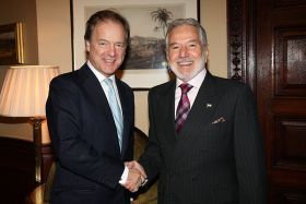 Foreign Office Minister Hugo Swire meeting Samuel Santos López, Nicaraguan Foreign Minister in London – Best Places In The World To Retire – International Living