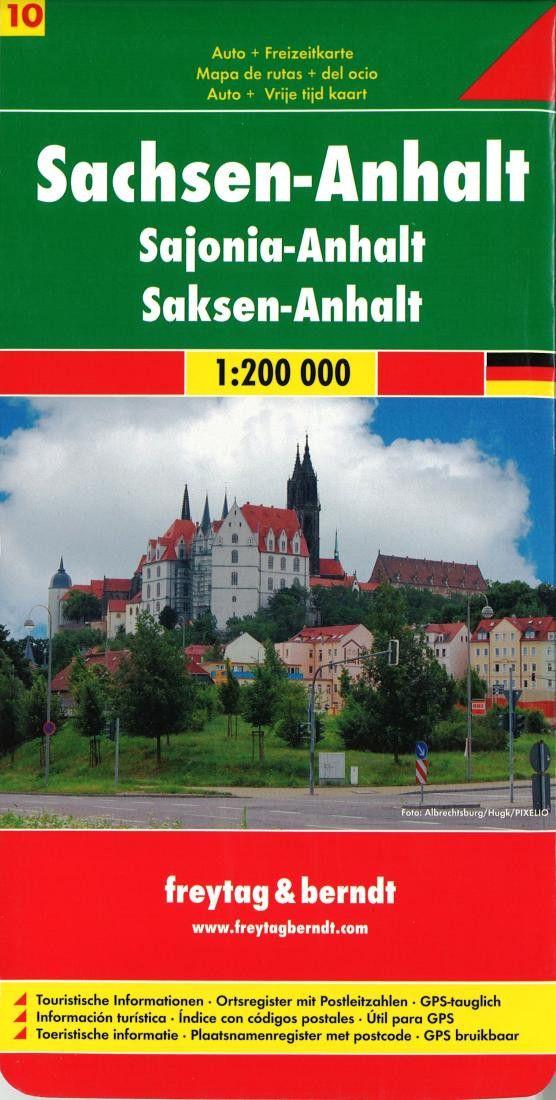 Germany, Saxony-Anhalt by Freytag-Berndt und Artaria