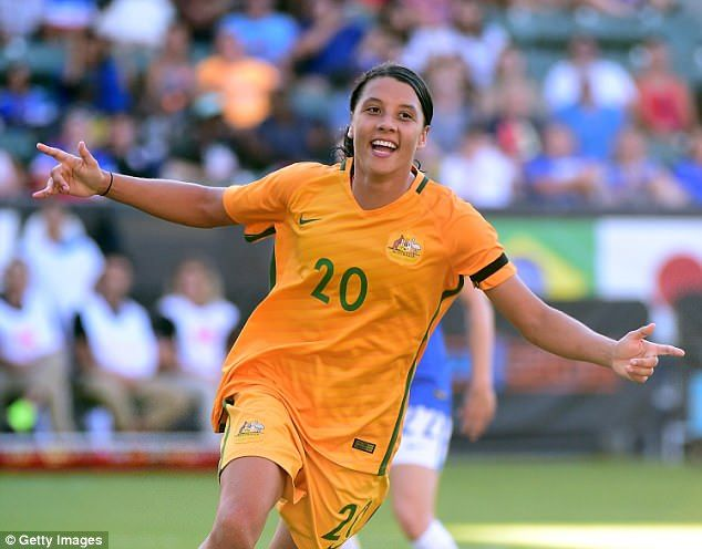 Samantha Kerr is a 23-year-old from Fremantle with the sports world quite literally at her feet